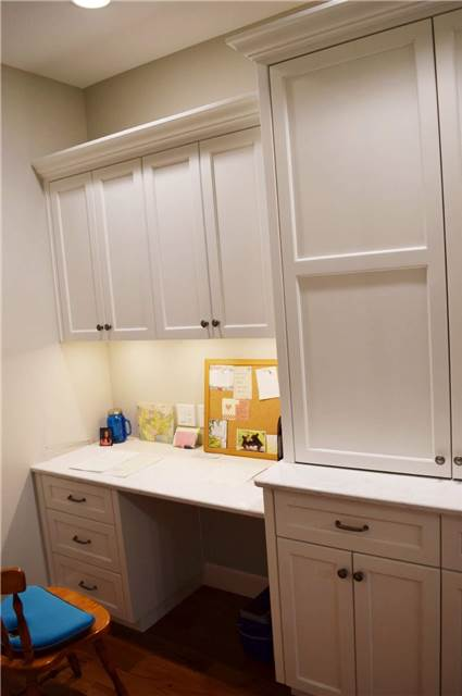 Painted cabinets - Quartz countertop