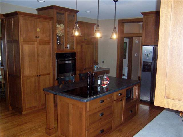 White Kitchen End Panels custom kitchen cabinets | ds woods custom cabinets | decatur